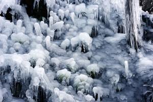 芦ヶ久保の氷柱