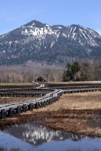 竜宮小屋と燧ケ岳