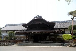 川越城と三芳野神社