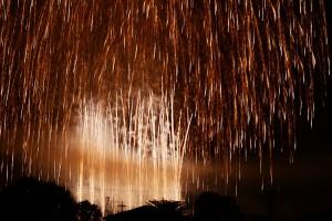 岡部の花火