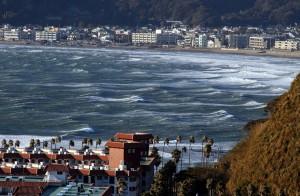 逗子マリーナと鎌倉の海岸